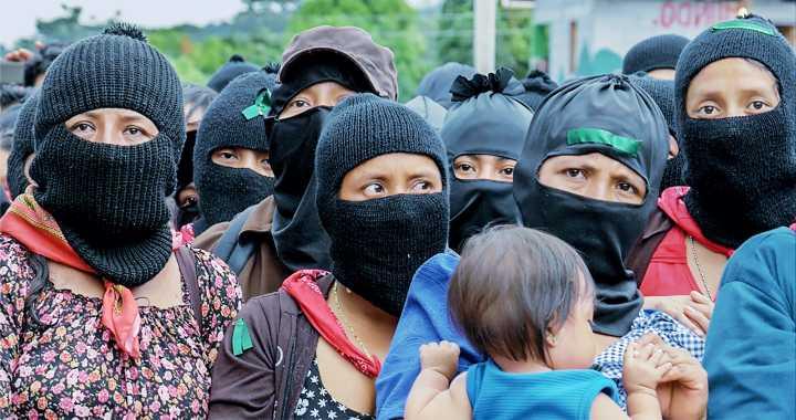SE UNEN MUJERES DEL EZLN AL PARO #UNDÍASINNOSOTRAS