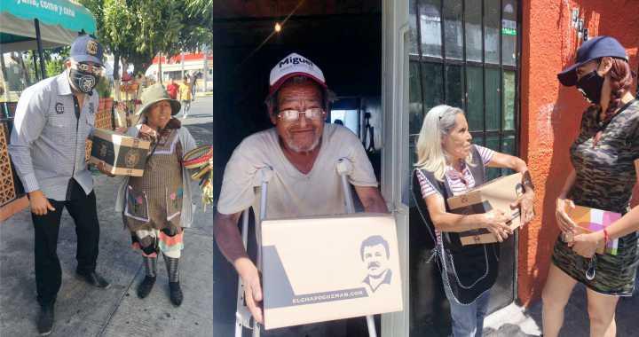 """ENTREGAN """"CHAPO DESPENSAS"""" A ADULTOS MAYORES EN GUADALAJARA"""