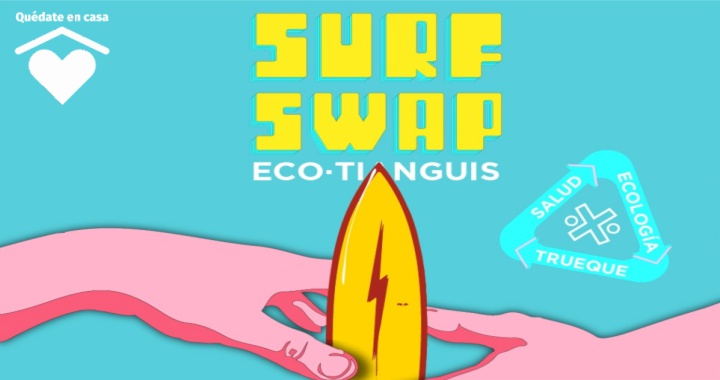 RIVIERA NAYARIT INVITA AL 1.ER SURF SWAP ECO-TIANGUIS DE LA BAHÍA