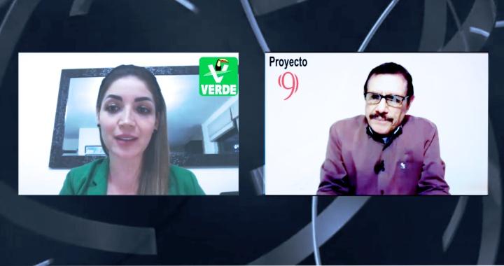 (Video) Solos o acompañados arropará PVEM a Miguel Ángel Navarro: Jasmin Bugarín