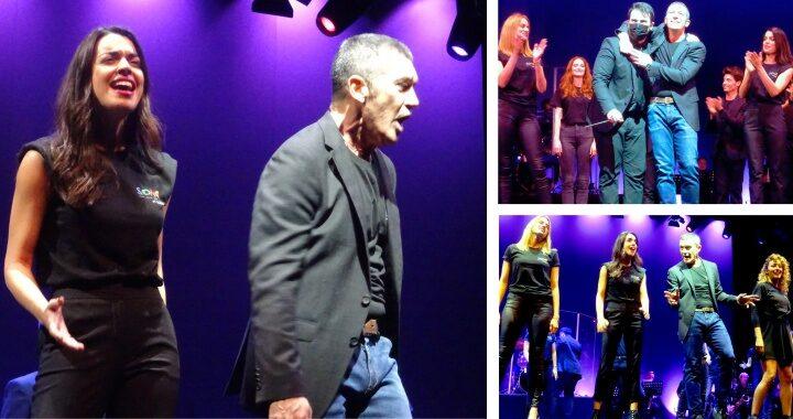 (Video) Antonio Banderas hambriento de público y de larga temporada de Company en su teatro
