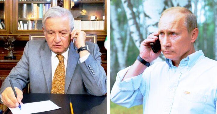 Hablará AMLO con Putin este lunes por suministro de vacunas