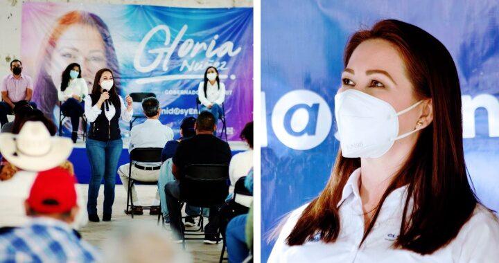 Construimos un proyecto fuerte y unido para Nayarit: Gloria Núñez