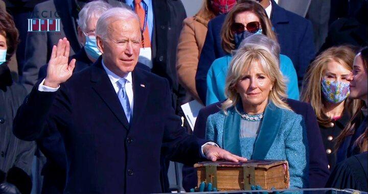 """""""Seré el presidente de todos los estadounidenses"""": Biden"""