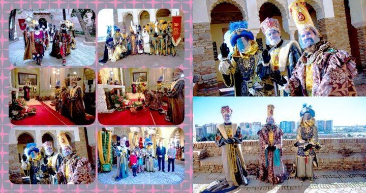 Llegaron los Reyes Magos a Málaga