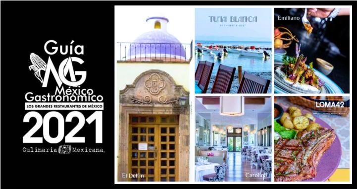 5 restaurantes nayaritas en «Los Grandes Restaurantes de México 2021»