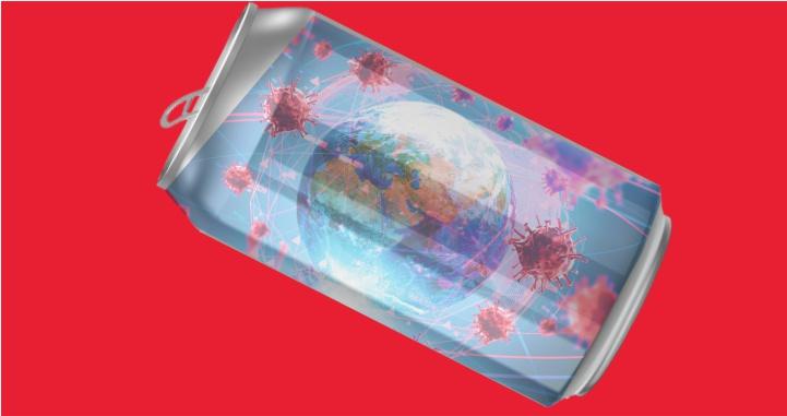 Podría caber en una lata de refresco todo el virus de Covid-19 del mundo