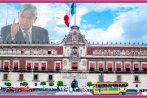 Enojo en Palacio Nacional