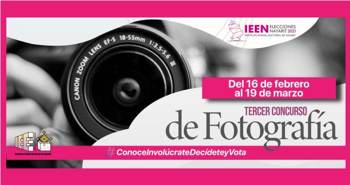 Convoca el IEEN al Tercer Concurso de Fotografía