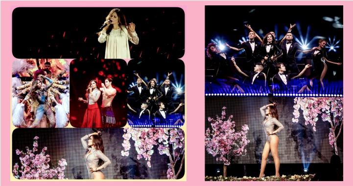 Magnífico concierto dio Gloria Trevi en streaming en vivo desde México