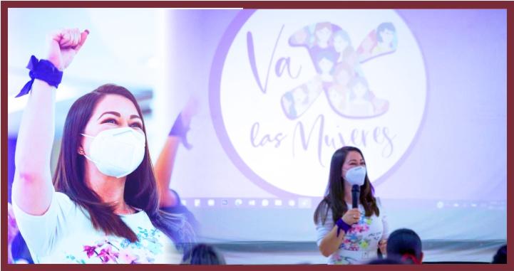 Refrenda Gloria Núñez su compromiso con las mujeres en especial las de Nayarit