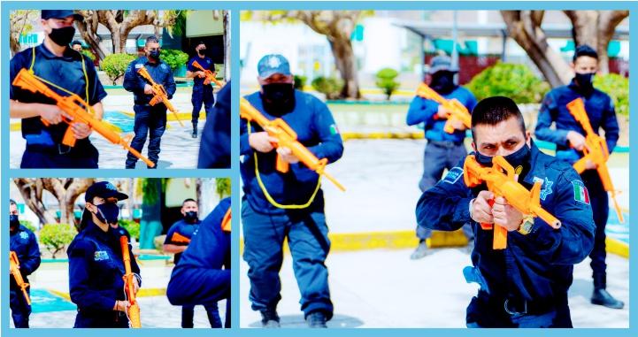 Continúa profesionalización y capacitación a la Policía Estatal
