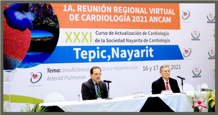 Primera Reunión Regional de Cardiología en Tepic