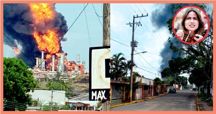 (video) Exige PAN se informe sobre incendio en Refinería de Minatitlán