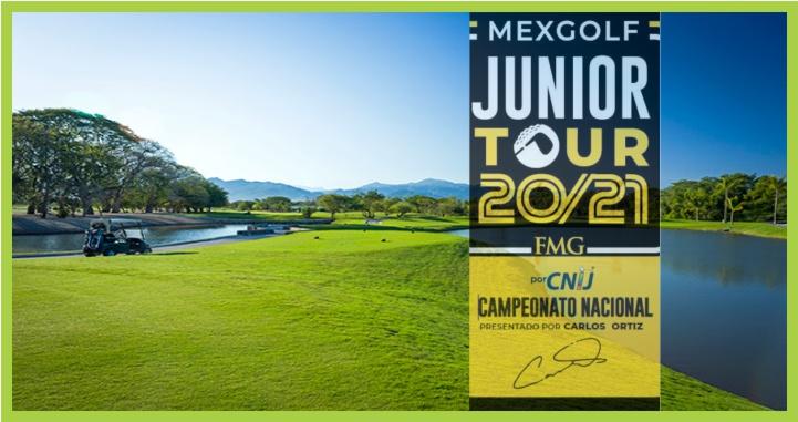 Riviera Nayarit recibe el Mexgolf Junior Tour 2021