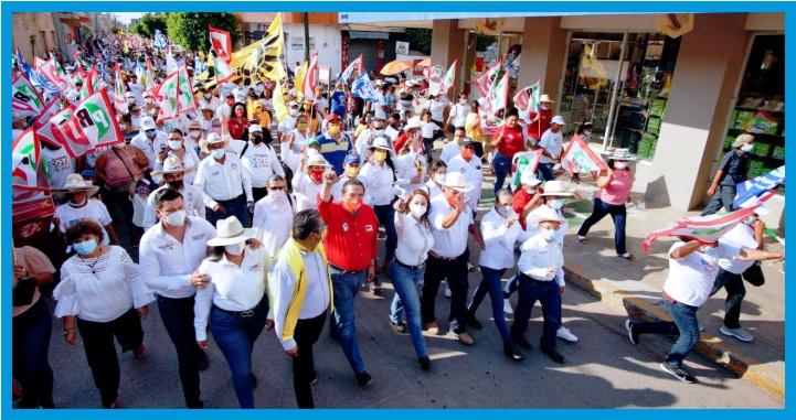 Seremos un gobierno de primera; los de cuarta ya se van: Gloria Núñez