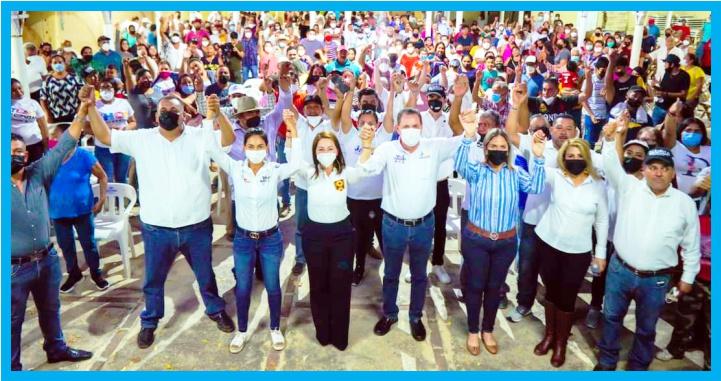 Liderazgos de Bahía de Banderas se suman al proyecto de Gloria Núñez