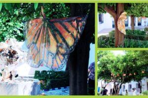 Lucila Veloz G. traslada la Mariposa Monarca al Museo de Bellas Artes de Córdoba