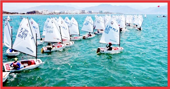 Se alista en Riviera Nayarit Campeonato Norteamericano Optimist 2021