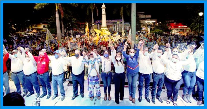 Aquí cabemos todos los que queremos un Nayarit unido y próspero: Gloria Núñez