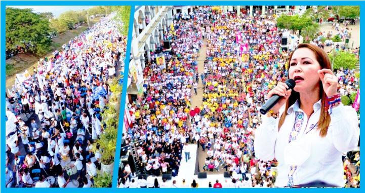 (Video) Con la fuerza de los santiaguenses Gloria Núñez será la primera gobernadora de Nayarit