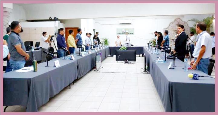 Culmina Sesión Especial Permanente del Consejo Local Electoral