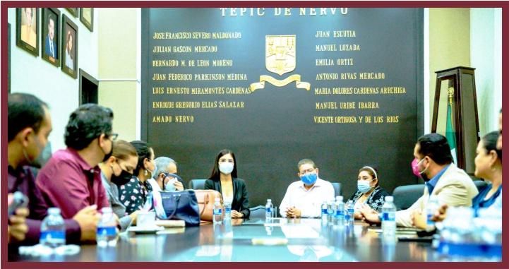 Alistan Geraldine Ponce y Javier Castellón entrega- recepción de alcaldía de Tepic