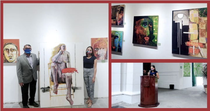 Despiden obra «Magdalenas» de Vladimir Cora exhibida por la UAN en Casa Fenelón