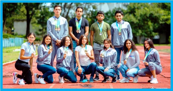 """Estudiantes de la UAN, regresaron con medallas de los """"Nacionales CONADE 2021"""""""