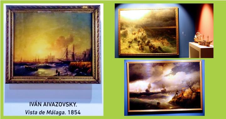 Las creaciones del artista ruso Aivazovsky presentan un viaje a través del agua