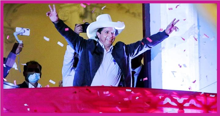 Pedro Castillo, nuevo presidente de Perú para el periodo 2021-2026