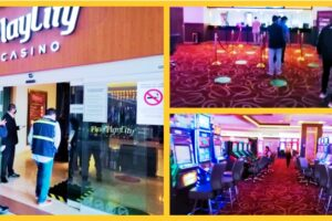 Por operativo contra COVID-19, cierran casino Play City en Tepic