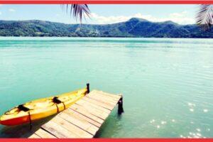 """¿Por qué se vuelve """"azul turquesa"""" el agua de la Laguna de Santa María del Oro?"""