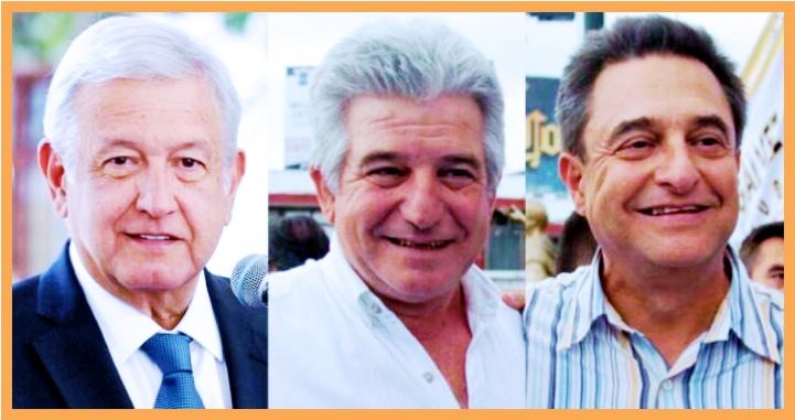 Martín, Pío, Arturo, Felipa, Concepción, clan López Obrador