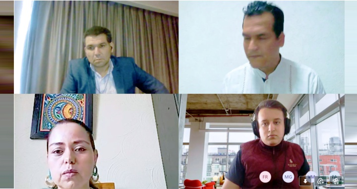 """Organizó la UAN mesa de diálogo """"Educación en tiempos de COVID-19"""""""