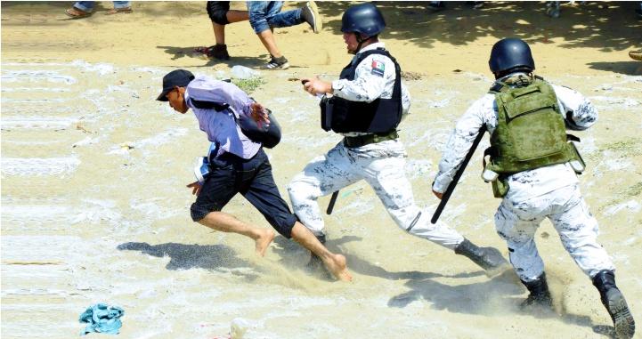 Acusa EZLN al gobierno federal de 'trato inhumano' contra migrantes en Chiapas