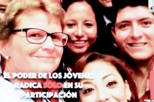 """""""No cambiaran la política ni el mundo sin jóvenes ni mujeres"""": Gisela Rubach"""