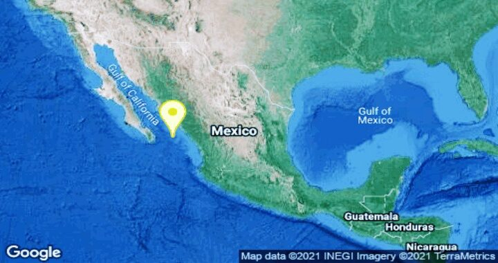(Última hora) Sismo de 5.2 grados sacude La Cruz, Sinaloa