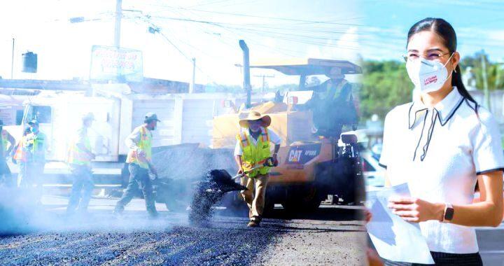 Geraldine Ponce lleva 70 cuadras con inicio de obras en Tepic
