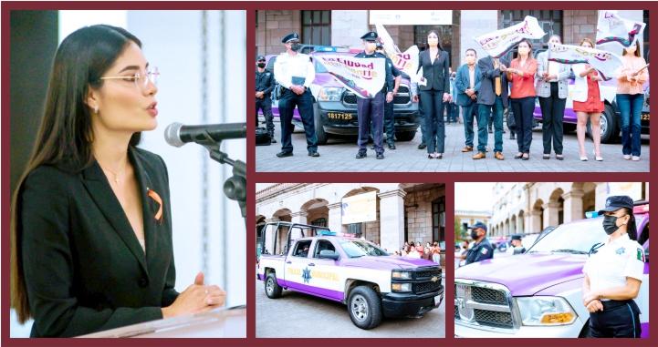 (Videos) Inicia Geraldine Ponce programa de atención y protección a mujeres y niñas