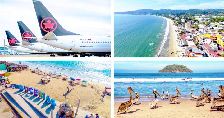 Riviera Nayarit incrementa conectividad aérea con Canadá