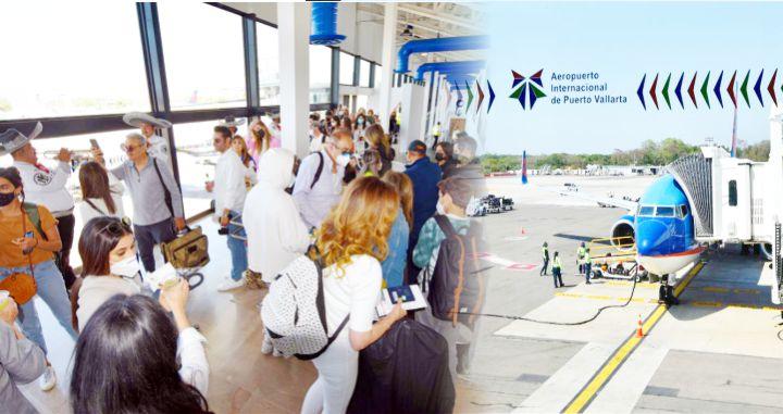 Llegan más turistas por vía aérea a Riviera Nayarit