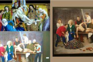 Soledad Fernández presenta un Homenaje a Van der Weyden