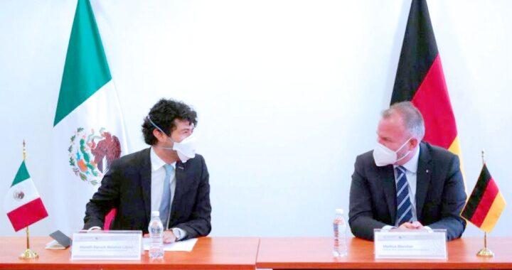 México y Alemania firman convenio de cooperación para facilitar la movilidad laboral justa